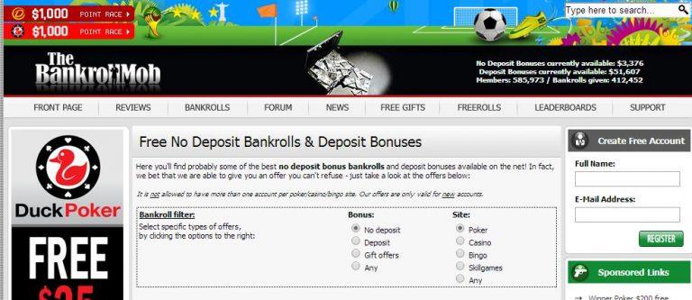 Бездепозитные бонусы для вывода