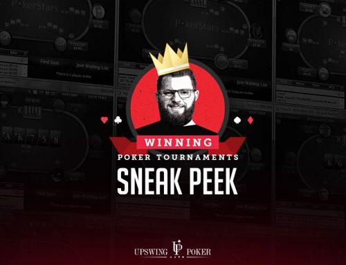 Видеокурс от Upswing. Winning Poker Tournaments— Nick Petrangelo