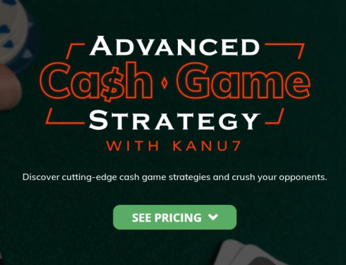 Защищено: Kanu7. Upswing Advanced Cash Game Strategy
